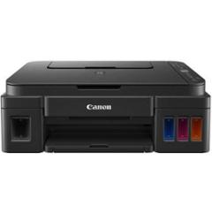 Canon PIXMA G3012 Inkjet Multi Functional Black Wireless Printer with Two Black Ink Bottles, 2315C023AA