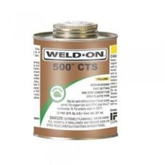 Astral CPVC Pro 44ml IPS Weld-On 500 CTS Yellow Adhesive Tube, TTINS-44