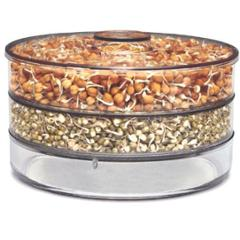 SM Healthy White Sprout Maker 3 Layer Box Container