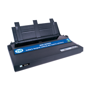 TVS MSP 355 USB Black Dot Matrix Monochrome Printer
