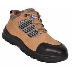 2e3821c8766 Allen Cooper AC 9005 Antistatic Steel Toe Brown Safety Shoes, Size: 6