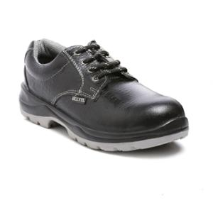 Agarson Beetel Steel Toe Black Safety Shoes, Size: 9
