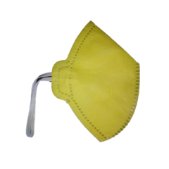 Siddhivinayak Yellow Non-Woven Face Mask (Pack of 100)