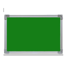 Standard 1.5x2 Ft Green Notice & Pin Up Board