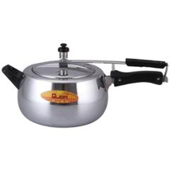 Quba 5 Litre Silver Contura Induction Base Pressure Cooker