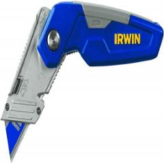 Irwin FK150 Folding Utility Knife with 3 Blade, 1858319 (Pack of 5)
