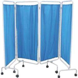 Wellton Healthcare 4 Fold Bed Side Screen, WH1182
