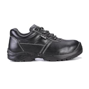 Fuel Marshal M/C Black Leather Steel Toe Safety Shoes, 649-8301, Size: 10