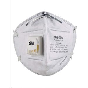 3M P1 9004V Particulate Respirator White Mask (Pack of 15)