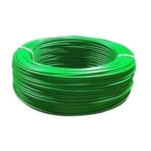 Foliflex Safety 16 Sqmm Green 2 Core FR PVC Round Sheathed Flexible Industrial Cable, Length: 90 m