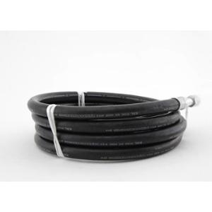 Phantom 25.40mm Black Rubber Hose Pipe, Length: 20 m