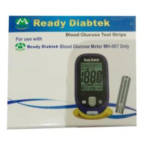 Ready Diabtek MH-007 Blood Glucose 100 Pcs Test Strips