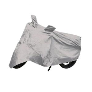 Uncle Paddy Silver Two Wheeler Cover for Yamaha SS 125