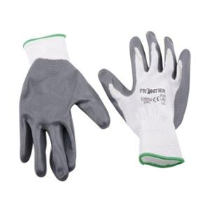 Frontier White & Grey Nylon Cut Resistant Gloves (Pack of 120)