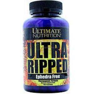 Ultimate Nutrition Natural Ultra Ripped 180 Capsules Bottle