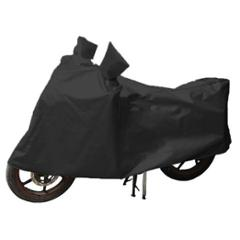 Uncle Paddy Black Two Wheeler Cover for TVS Sport