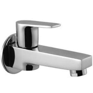 Hindware Element Chrome Brass Bib Cock with Wall Flange, F360004SCP