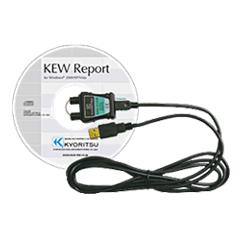 Kyoritsu USB Adaptor with KEW  Report, KEW 8212USB