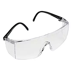 3M 1709IN Clear Safety Goggles (Pack of 2)