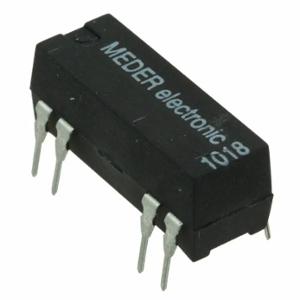 MEDER 250mA 5V SPDT 0.7ms Relay Reed DIP, DIP05-1C90-51D, Release Time: 1.5ms