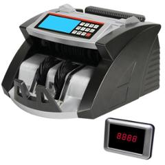 Hindvanture Money Count 231 Heavy Duty Cash Counting Machine with Fake Note Detector