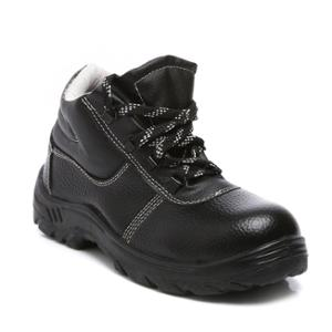 Agarson Innova Steel Toe Black & Grey Safety Shoes, Size: 11