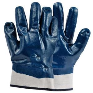 Safewell Blue Deep Nitrile Cuff Hand Gloves (Pack of 3)