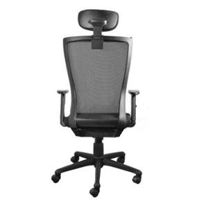 Official Comfort SUNNY-HB Hydraulic High Back Black Office Chair with Adjustable Handle, 1010