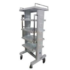 Sangai 1042 60x24 inch Stainless Steel Monitor Trolley