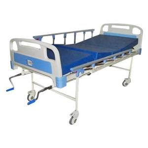 Mediquip Healthcare Full Fowler Hospital Bed with Mattress & Railing