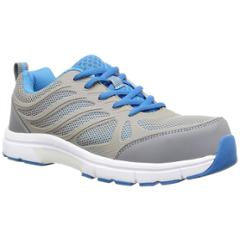 Honeywell SHST00201 S1 Grey & Blue Light Weight Sporty Safety Shoes, Size: 5