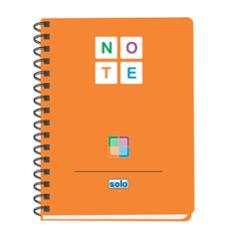 Solo Assorted Note Book, NB578, Size: B5 (Pack of 4)