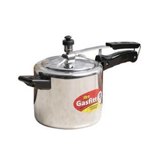Gasfitt Classic 3L Aluminium Pressure Cooker with Inner Lid