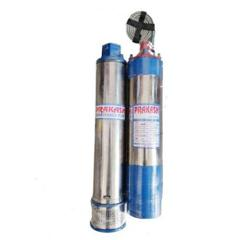 Prakash 1HP 10 Stage Oil Filled Submersible Pump with Control Panel