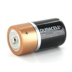 Duracell C Type 1.5V Alkaline Battery, MN1400 (Pack of 2)