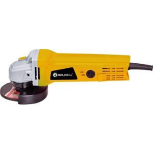 Buildskill BG720R 830W 100mm Yellow Heavy Duty Angle Grinder