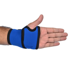 Vkare Neoprene Blue Wrist Binder with Thumb Support, VKB0106
