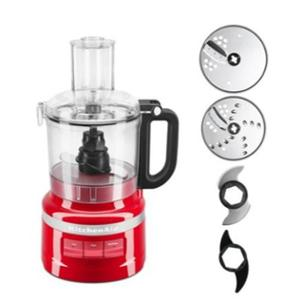 Kitchenaid 250W Empire Red 7 Cup Food Processor, 5KFP0719BER