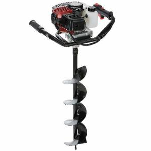 Neptune 2.7HP 52cc 2 Stroke Black Earth Auger with 6 inch Drill Bit, AG-43