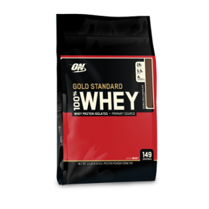 Optimum Nutrition Gold Standard 10lbs Double Rich Chocolate Whey Protein