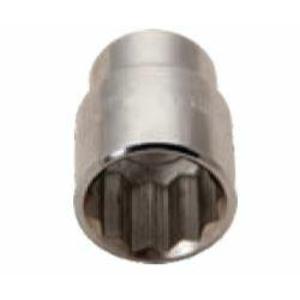 De Neers 15mm 1/2 inch Square Drive Hexagonal Socket