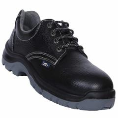 Allen Cooper AC-1419 Black Antistatic Steel Toe Safety Shoes, Size: 6