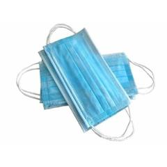 Siddhivinayak Light Blue Non-Woven 2 Ply Disposable Mask (Pack of 100)