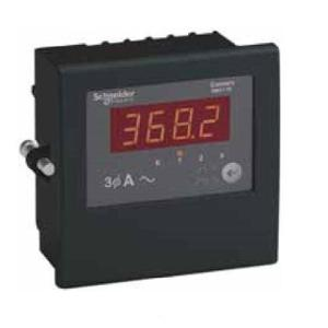 Schneider Three Phase Field Selectable LED Ammeter, DM3110