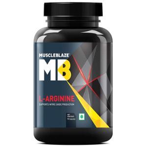 MuscleBlaze 90 capsules L-Arginine Capsules