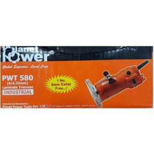 Planet Power 6mm 580W Laminate Trimmer, PWT 580