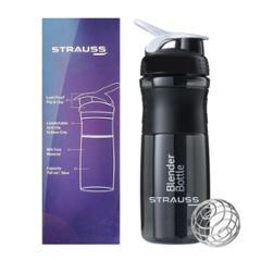 Strauss Blender 500ml Black Shaker Bottle, ST-1311